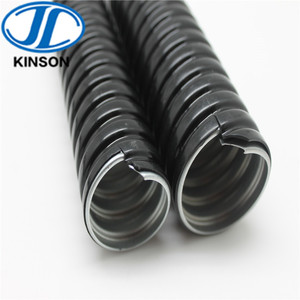 "3/4"" PVC Coated Galvanized Steel Electrical Flexible Conduit GI Pipe"