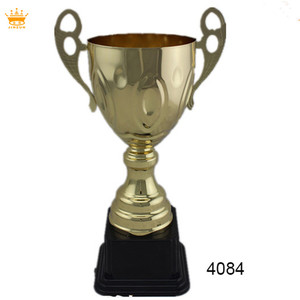 High Class Quality metal plate music soccer awards trophy