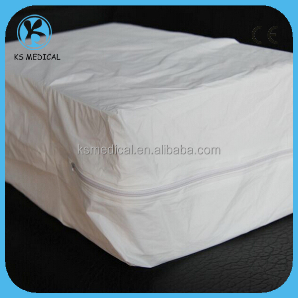 Non Woven Zippered Waterproof Mattress Protector Bed Bug