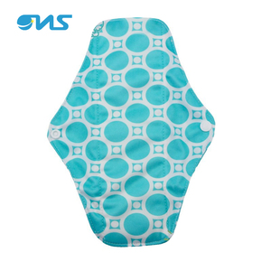 Washable Lady Sanitary Napkin Printed Cloth Menstrual Pads
