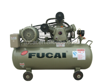 Manufacturer whole sell CE approved FUCAI classic Model F30012 4HP (3KW 0.3m3/min 12.5bar ) piston type air compressor.