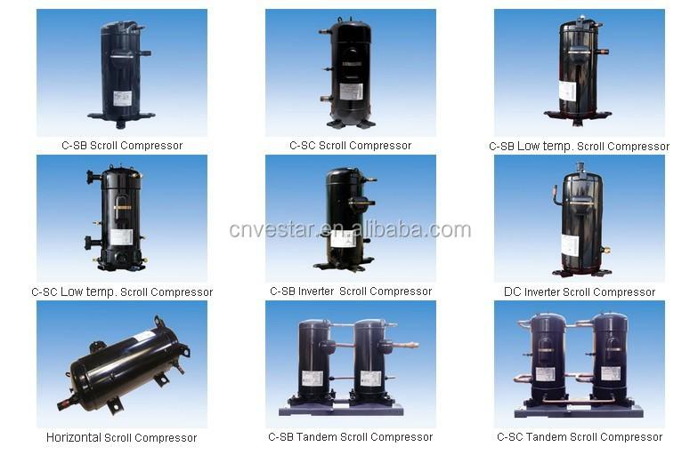 R407c Evi Dc Inverter Air Conditioner Compressor Buy
