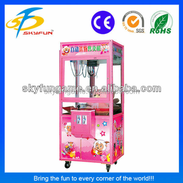 big profits coin operated toy game claw machine for sale