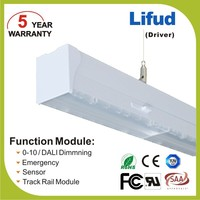 Warehouse hanging led batten light fixture