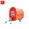 CE OEM gas/electric mobile outdoor street ice cream fast food vending trailer/cart popcorn truck/kitchen car van/kiosk for sale