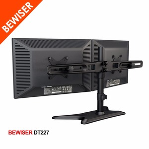 Dual monitor stand multiple monitor stand flexible arm stand(BEWISER DT227)