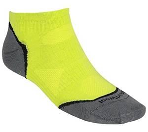 SmartWool DSG PhD Run Ultralight Micro Low-cut Socks, SmartWool Green, Size Large (M 9-11.5, W 10-12.5)