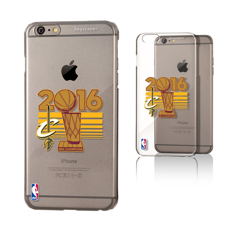 Cleveland Cavaliers 2016 Champs iPhone 6 Plus & iPhone 6s Plus Clear Slim Case NBA