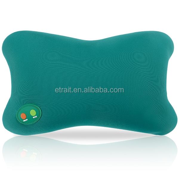 Auto House Dual Use Car Seat Massage Cushion Multifunctional Massager Leg Lumbar Cervical Neck Back Pillow