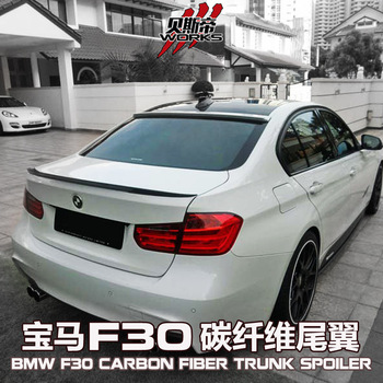 Darwinpro Carbon Fiber Trunk Spoiler Gt Wing For 10 14 Bmw 3 Series