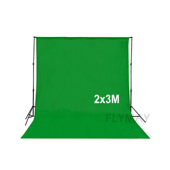 photo studio accessories Roll Up Green Screen Lighting Kit