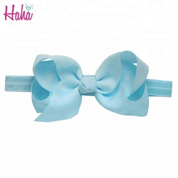 Decorative Hair Band 6 inches Large Bow Headband For Kids Fancy Baby Headband