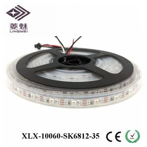SK6812 RGB smd3535 IP67 led strip 60leds/m