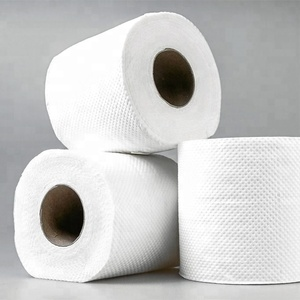 2018 hot sale white soft 3ply toilet tissues roll/roll paper with good quality