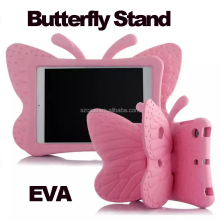 New EVA Butterfly Stand case for ipad air , for ipad pro case, for ipad mini 2 in 1 case