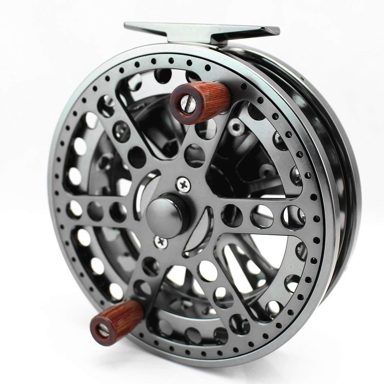 4 3//4 CENTERPIN REEL 120mm Centre PIN Reel for STEELHEAD COARSE TROTTING BARBEL FLOAT FISHING