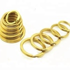 Brass Key Ring Brass Wholesale High Quality Solid Brass Bags Accessories Flat Key Ring