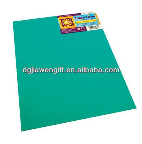 Craft EVA foam sheet for kid