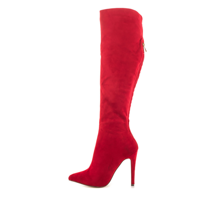 lace sexy up Winter 710 shoes boots red fashion women AL color high high thigh knee boots ntBYq0Uw5