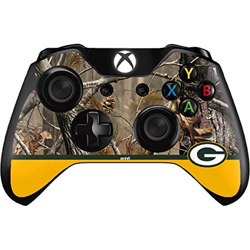 NFL Green Bay Packers Xbox One Controller Skin - Realtree Camo Green Bay Packers Vinyl Decal Skin For Your Xbox One Controller