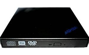 AGPtek USB2.0 External 8x DVD+ -RW DL Slim Burner Drive Read write CD DVD Drive for Acer Aspire One A110 A150 AOA110 AOA150 D150 AOD150 Series and Acer Aspire One 8GB 8.9 and Acer Aspire One 10.1 Series Mini Netbook &quot