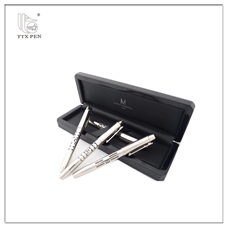 2019 wholesale stationery chinese Promotional refillable metal roller ball pen with box