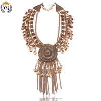 NYQ-00207 muti layers delicate chunky african ethnic statement necklaces for women