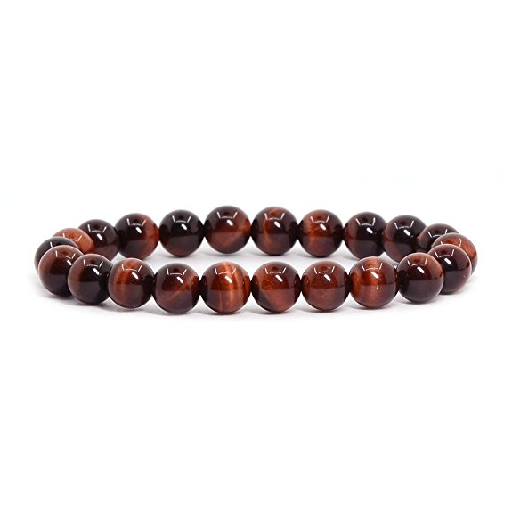 2017 Yoga natural stone S Precious <strong>Red</strong> <strong>Tiger</strong> <strong>Eye</strong> Beaded <strong>Bracelet</strong>