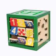 2012 cheap educational wooden toys/ Magic box