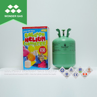 Factory Produced Small Steel Cylinder Disposable Helium Gas Cylinder