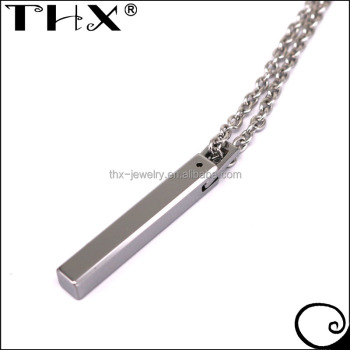 Tungsten carbide vertical bar pendant necklace buy tungsten bar tungsten carbide vertical bar pendant necklace aloadofball