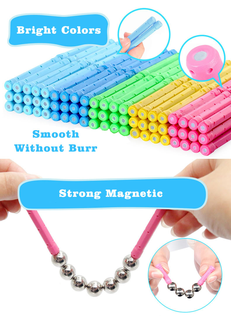 Educational Toys Distributors New Style Intelligence Toy Magnetic Rods And Balls