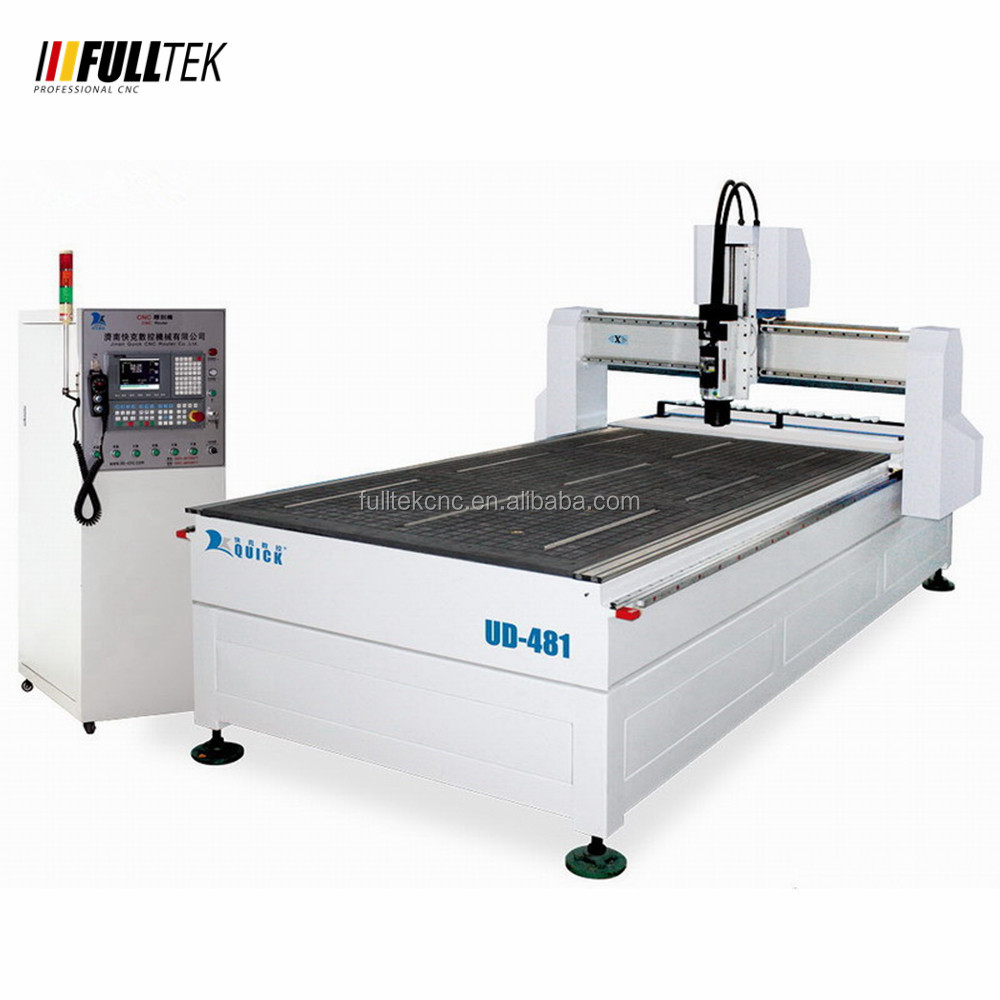 automatic wood carving cnc router UD-481,linear tool changer , HSD 9 kw ATC spindle