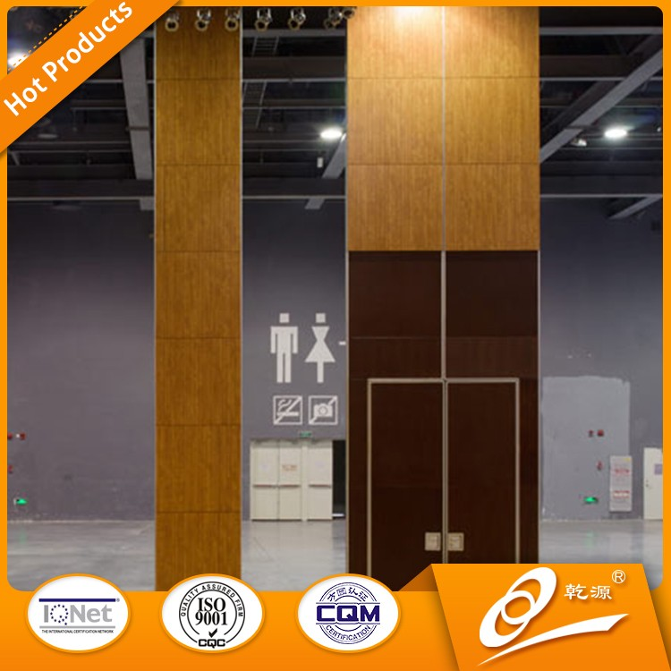 China aluminium movable sliding interior door sound proof folding partition wall