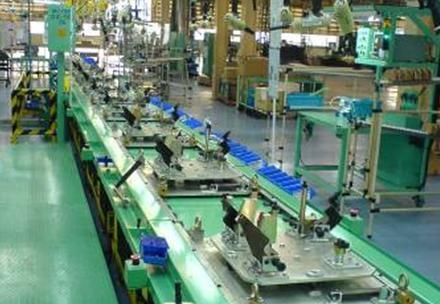 Oval Conveyor Type Car Seat Assembly Line Made In China