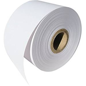 """50 Rolls-Dymo 30270 Compatible 2-7/16""""x300' Non-Adhesive Continuous Receipt Paper by OfficeSmartLabels for DYMO LabelWriters 330 400 450 Twin Turbo Duo 4XL Printer"""