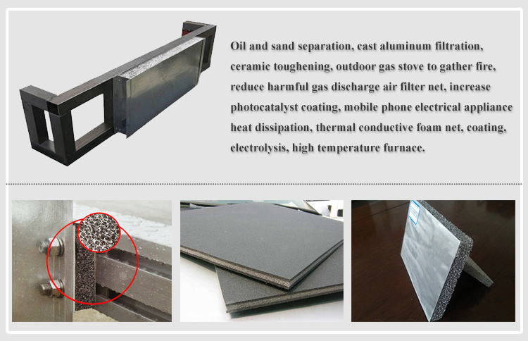 Brand New 1.0 G/Cm3 Open-Cell Foam Aluminum Panel Electrode With High Quality