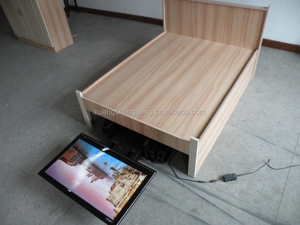 onder het bed afstandsbediening tv lift tv staat product id 120183296. Black Bedroom Furniture Sets. Home Design Ideas