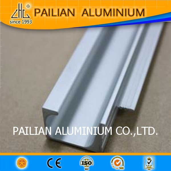 Aluminum Kitchen Cabinet  profile, aluminum G handle profile, Aluminium furniture extrusion