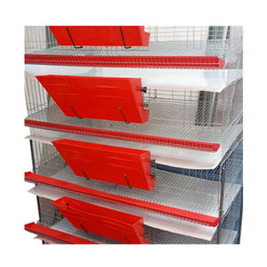 H Type Wire Mesh Metal Quail Cage Hot Sale In Commercial Breeding Quail Farm