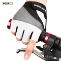 WOSAWE High Quality Cycling gloves Ciclismo Bike Bicycle gloves 3D GEL Shockproof Sports Half Finger Men