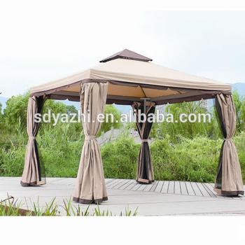 Tente De Gazebo En Plein Air,Jardin Gazebo Avec Moustiquaire,Tissu ...