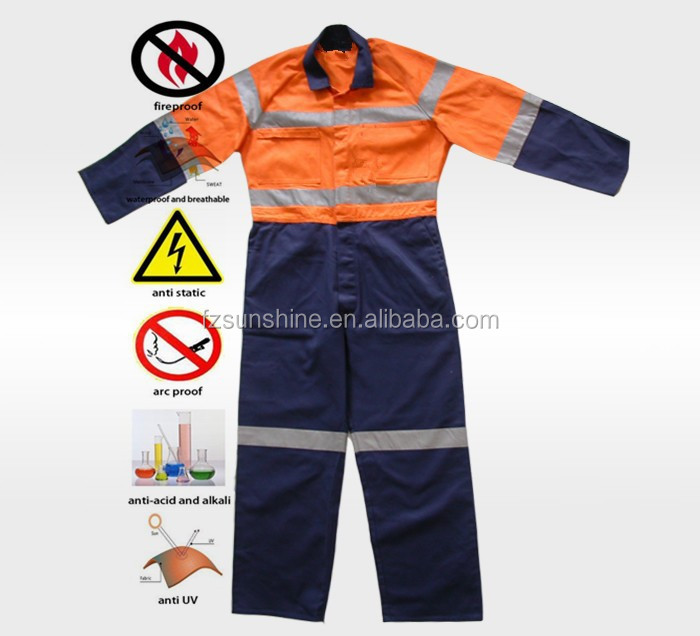 d5084add1a4a Nomex Fire Retardant Coverall With Reflective Stripe - Buy Nomex Fire  Retardant Coverall