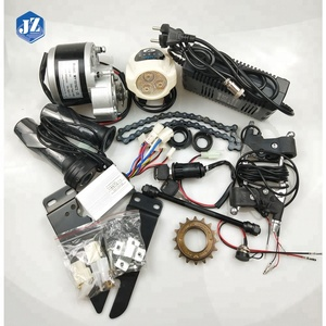 Adequate Inventory MY1016Z2 24V/36V 250W Outdoor Brush Scooter DIY E-bike Conversion Motor Kits for India Market
