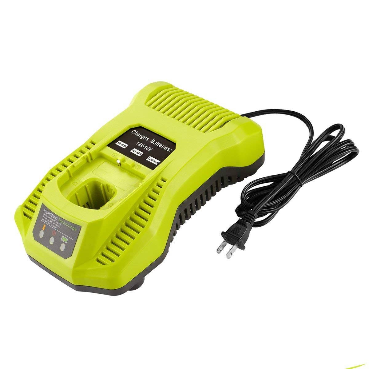 Cheap 18v Battery Charger Circuit Find Makita Wiring Diagram Get Quotations Yabelle P117 Dual Chemistry Intelliport For All Ryobi 12v One Lithium