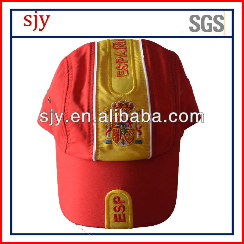 2014 world cup promotional embroidery football cap