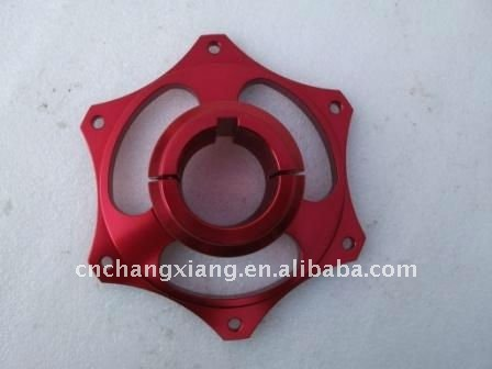 CNC Go Kart Rear Axle Aluminum Parts - Sprocket Carrier