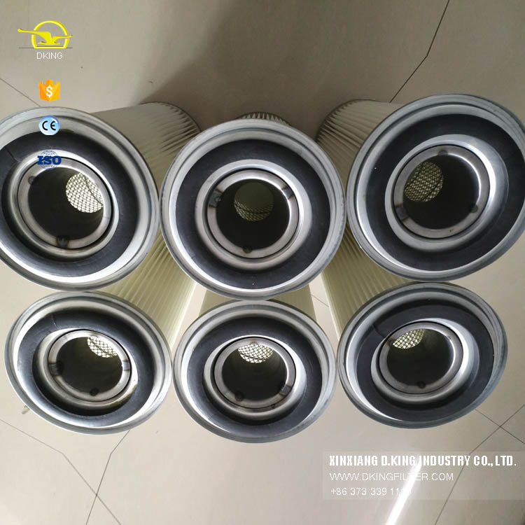 customize cylinder dust collector filter