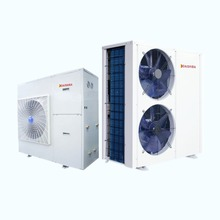 air source monobloc heat pump central air conditioner for residential and small commercial application