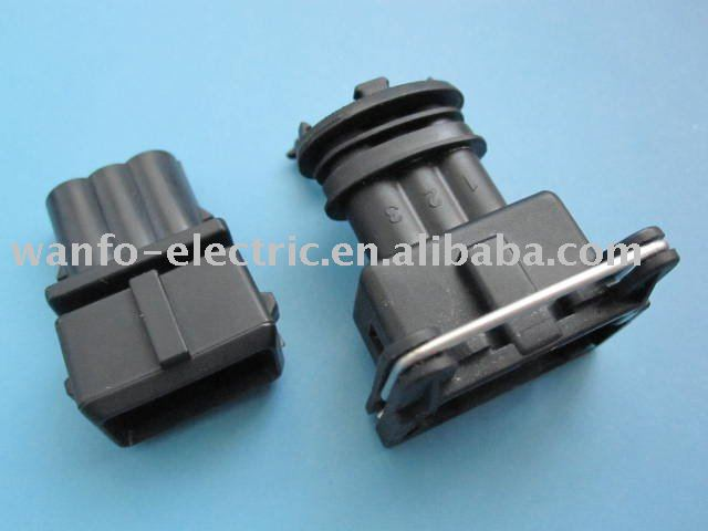 AMP connector 3 pins, View automotive connector, WFO Product Details from  Yueqing Wanfo Electric Co , Ltd  on Alibaba com